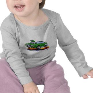 1969 Firebird Green-Black Top T Shirt