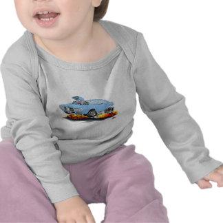 1969 Firebird Lt Blue Car T-shirt