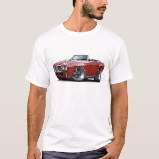 1969 Firebird Maroon Convertible T-Shirt