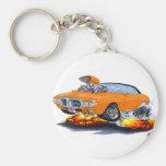 1969 Firebird Orange-Black Top Keychain