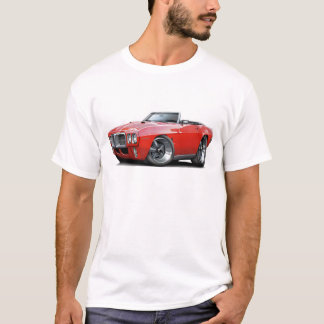 1969 Firebird Red Convertible T-Shirt