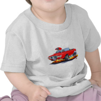1969 Firebird Red Convertible Tee Shirts