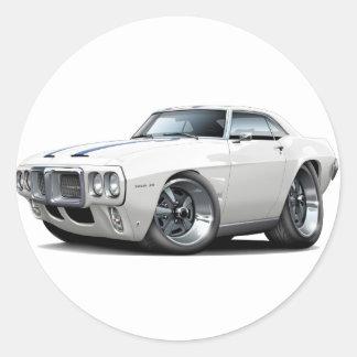 1969 Firebird Trans Am Classic Round Sticker
