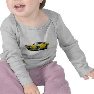 1969 Firebird Yellow Car T Shirt