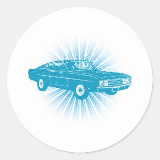 1969 Ford Torino Talladega Stickers
