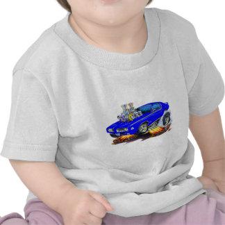 1969 GTO Judge Blue Car Shirts