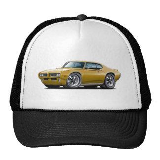 1969 GTO Judge Gold Car Trucker Hat