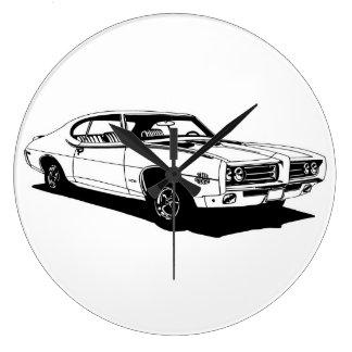 1969 GTO - Judge Large Clock