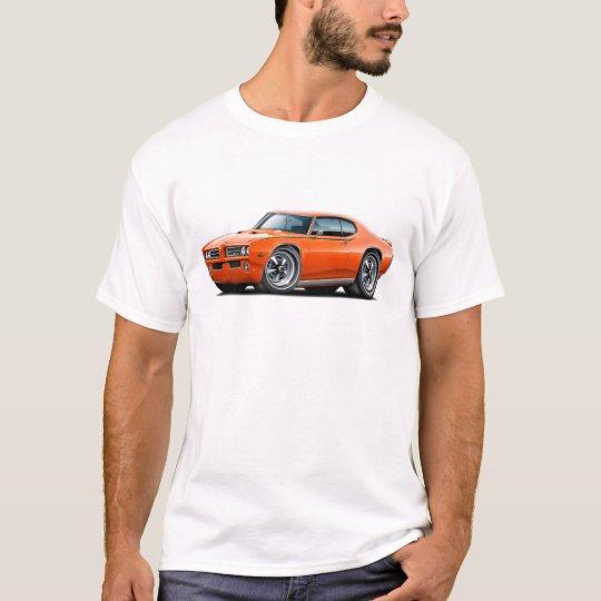 1969 GTO Judge Orange Car T-Shirt