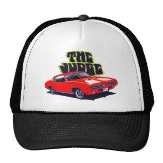 1969 GTO Judge Red Car Trucker Hat
