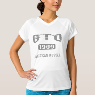 1969 GTO Workout Gear T-Shirt