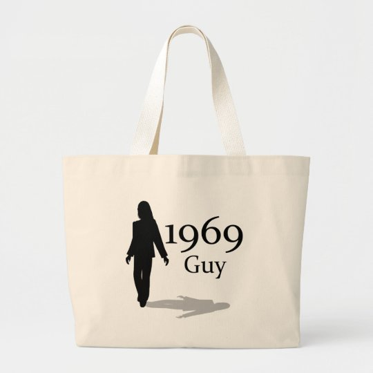 1969 Guy! Large Tote Bag