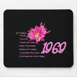 1969 - Hit Songs and the Best Year Ever Mouse Pad