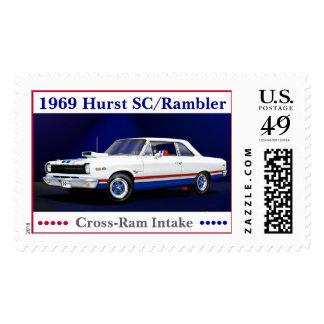1969 Hurst SC/Rambler Postage Stamp