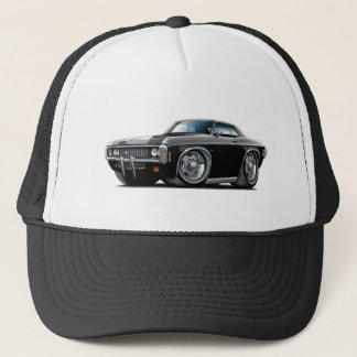 1969 Impala Black-Black Top Car Trucker Hat