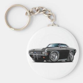 1969 Impala Black Car Keychain