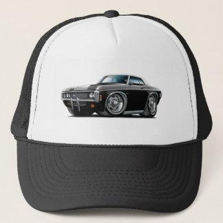 1969 Impala Black-White Top Car Trucker Hat