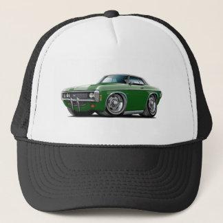 1969 Impala Dk Green-Black Top Car Trucker Hat
