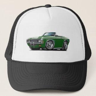 1969 Impala Dk Green Convert Trucker Hat