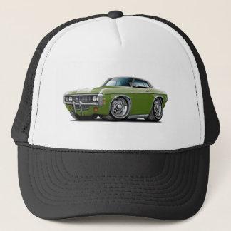 1969 Impala Frost Green-Black Top Car Trucker Hat