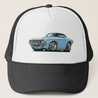 1969 Impala Lt Blue-Black Top Car Trucker Hat