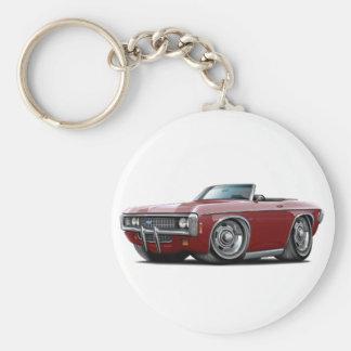 1969 Impala Maroon Convert Keychain