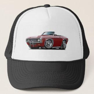 1969 Impala Maroon Convert Trucker Hat