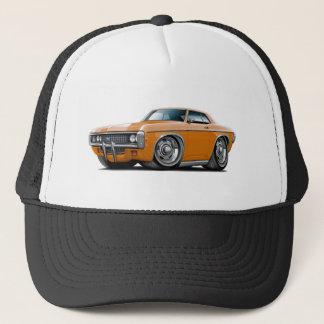 1969 Impala Orange Car Trucker Hat