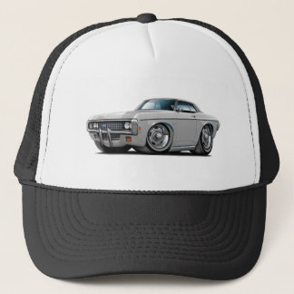1969 Impala Silver-Black Top Car Trucker Hat
