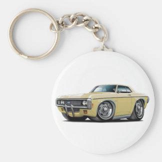 1969 Impala Tan Car Keychain