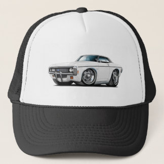 1969 Impala White-Black Top Car Trucker Hat