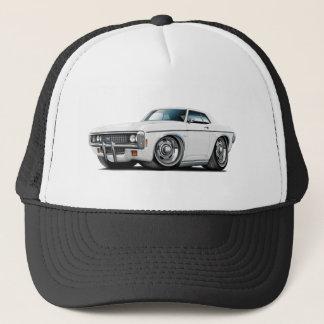 1969 Impala White Car Trucker Hat