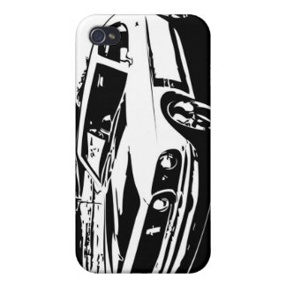 1969 Mustang GT Coupe iPhone 4 Cases