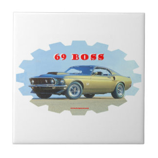 1969_Mustang Small Square Tile