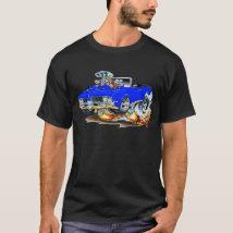 1969 Olds Cutlass Blue Convertible T-Shirt