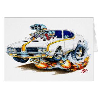 1969 Olds Cutlass Hurst Car Card