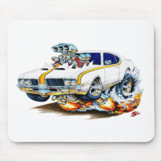1969 Olds Cutlass Hurst Car Mouse Pad