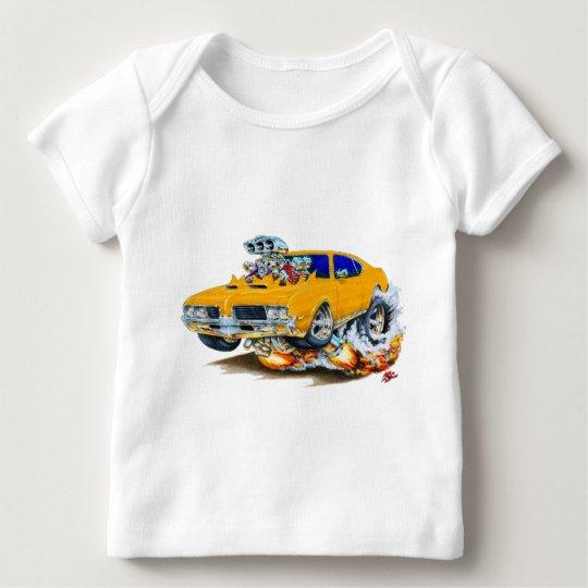 1969 Olds Cutlass Orange Car Baby T-Shirt