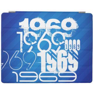 1969 on Royal Blue Stripes iPad Cover