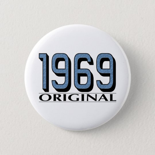 1969 Original Pinback Button