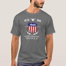 1969 Plymouth GTX American Muscle v3 T-Shirt