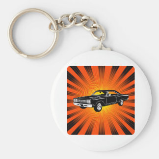 1969 Plymouth Road Runner Keychain