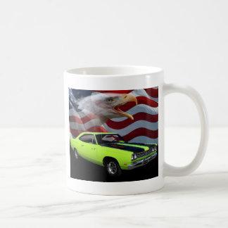 1969 Plymouth Road Runner Tribute Classic White Coffee Mug