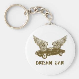 1969 Pontiac Firebird Basic Round Button Keychain