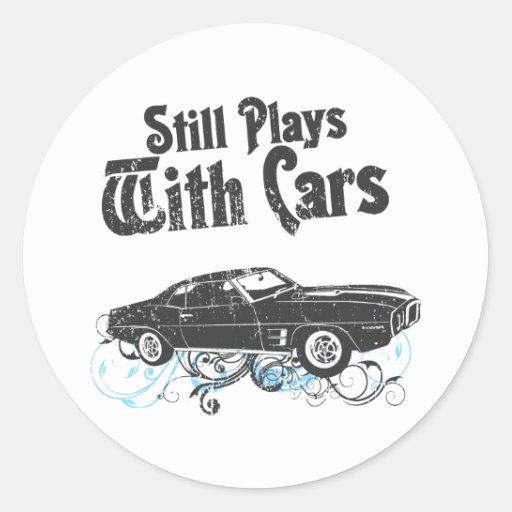 1969 pontiac firebird round stickers