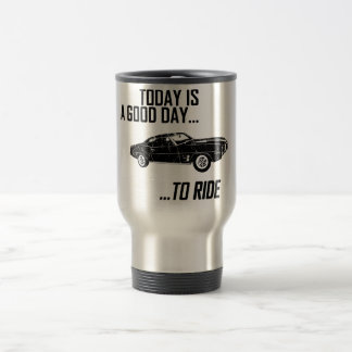 1969 Pontiac Firebird Travel Mug