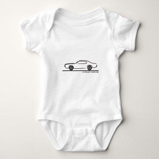 1969 Pontiac GTO Coupe Baby Bodysuit