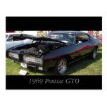 1969 Pontiac GTO Postcard