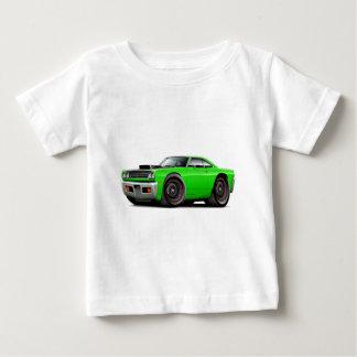 1969 Roadrunner Lime-Black Hood Scoop Car Shirt