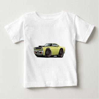 1969 Roadrunner Lt Yellow-Black Hood Scoop Car Shirt